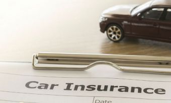 Car Insurance Form with toy car
