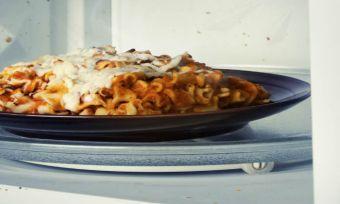 food in microwave