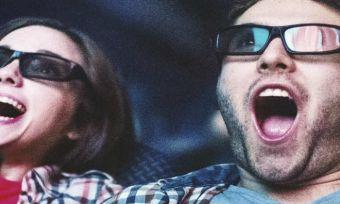 couple watching movie