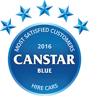 2016 Award for hire cars