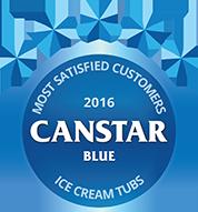 2016 award for Ice Cream Tubs