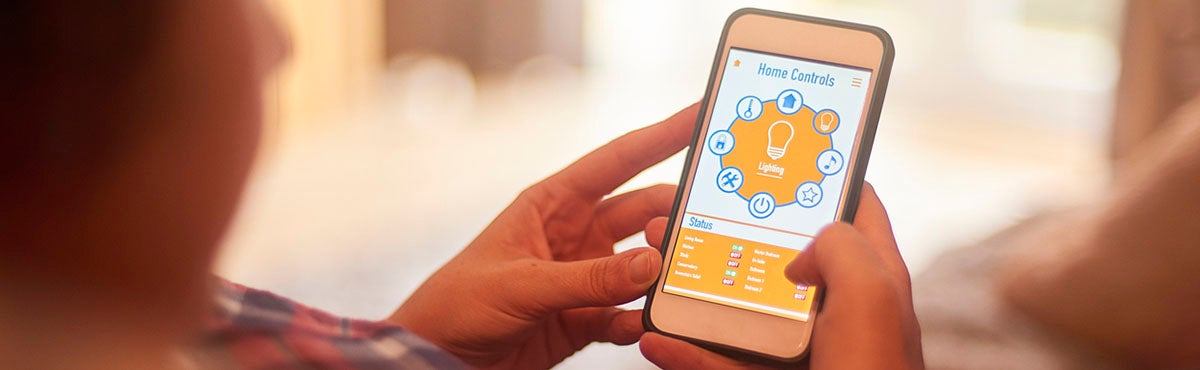 smart lighting: phone hub