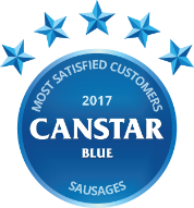 2017 award for sausages