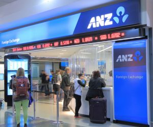 ANZ foreign exchange storefront