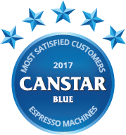 2017 award for espresso machines