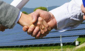 Solar handshaking