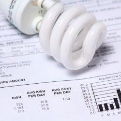lightbulb bill electricity