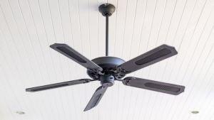 Warm bedroom fan