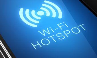 Wi-fi hotspot mobile phone