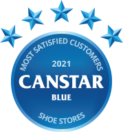 Canstar Blue Most Satisfied Customers Shoe Stores 2021