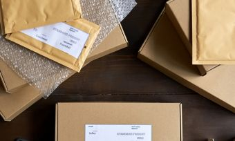 packaging boxes courier aramex