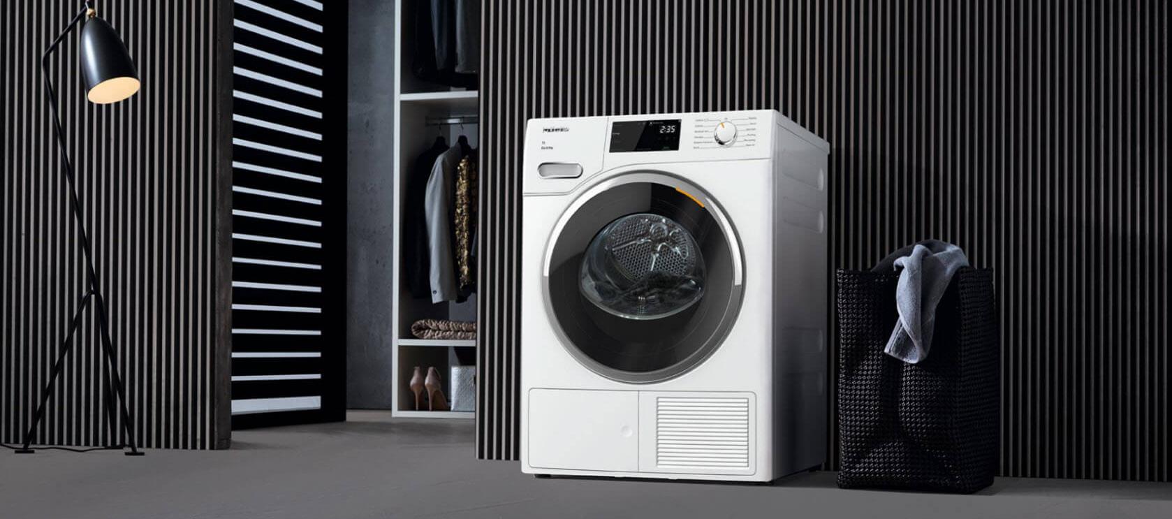Miele TWF 720 WP: most energy-efficient clothes dryer