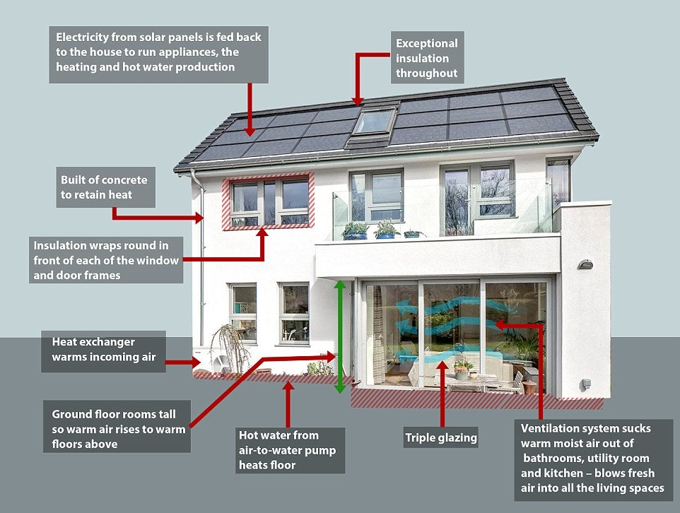 Britain's most efficient home