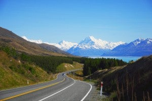 NZ Road Scenery