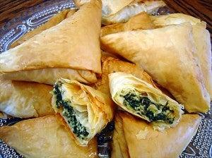 Greek Spanakopita pastry