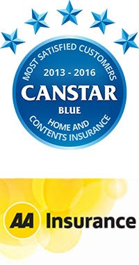 2016 Award winner for Home & Contents Insurance in NZ