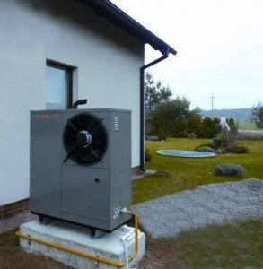 heat pump absorbs natural gas