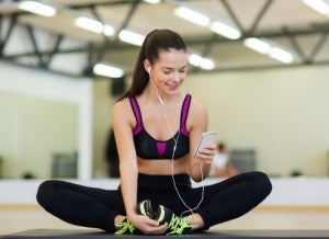 smartphone personal trainer