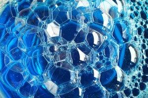 dishwashing liquid bubbles