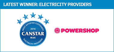 Electricity Providers - Award Winner, 2016
