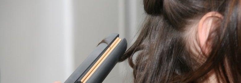 hair straightener burn