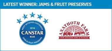 Jams & Fruit Preserves - Award Winner, 2016