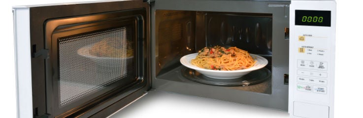 microwave recipes banner