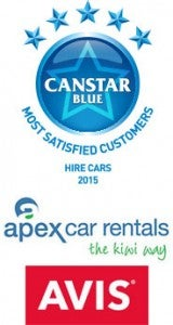 Apex & Avis: 2015 Rental Car Award Winners